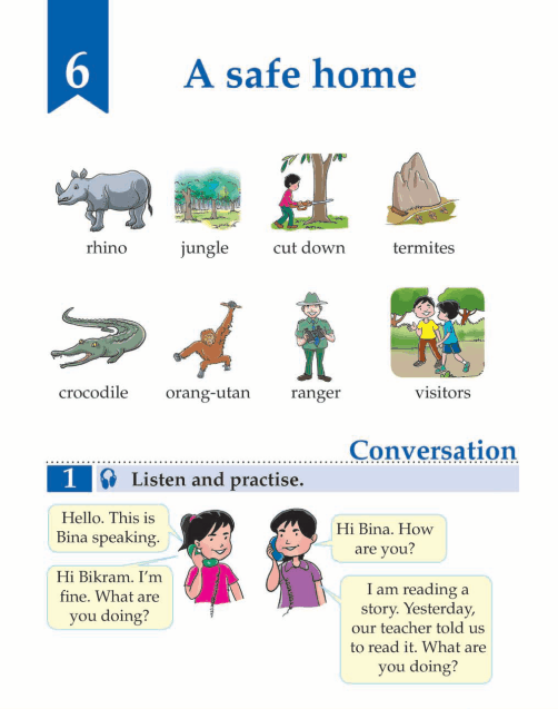 English Lesson Grade 3 A Safe House