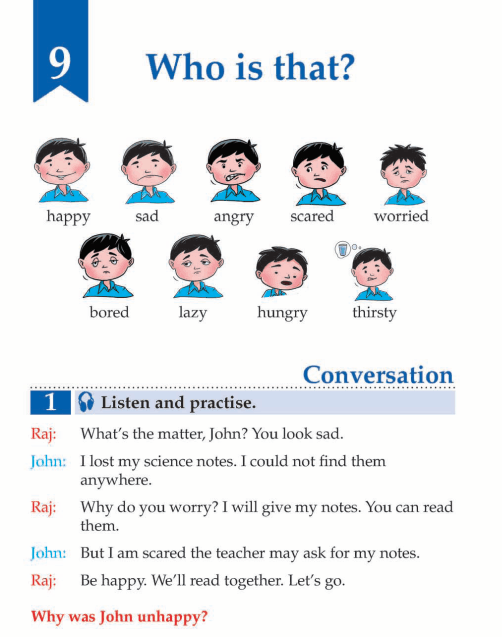 English Lesson Grade 3 Who Is That?