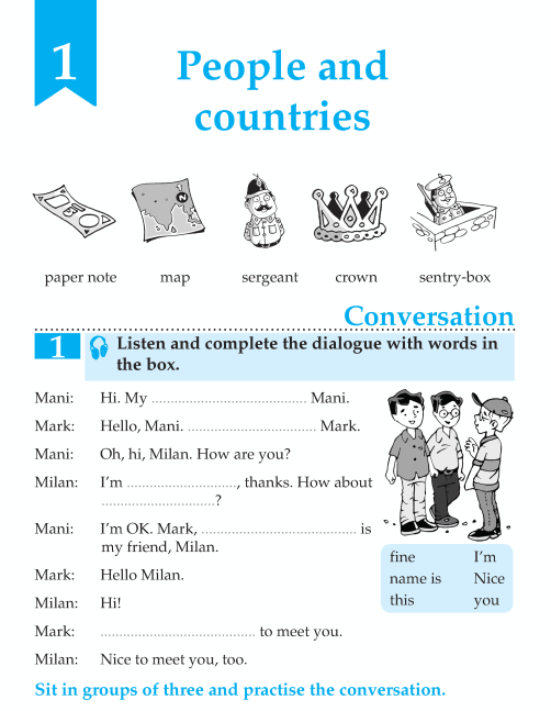 English Lesson Grade 6 People And Countries