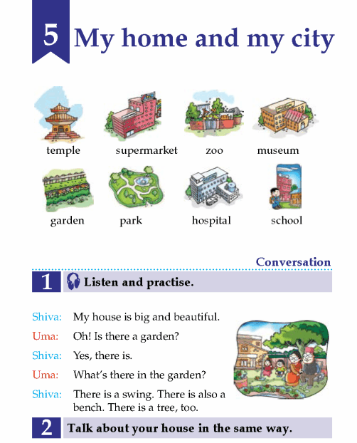English Lesson Grade 2 My Home And My City