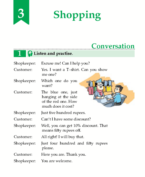 English Lesson Grade 5 Shopping