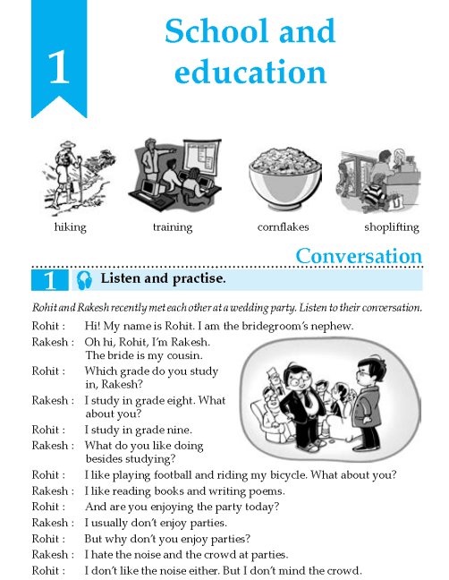 English Lesson Grade 8 School And Education