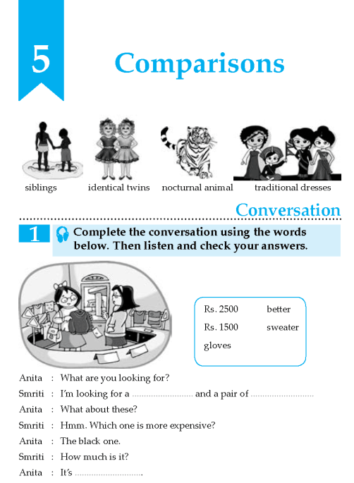 English Lesson Grade 8 Comparisons