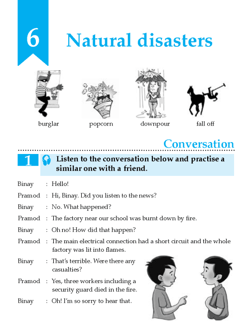 English Lesson Grade 8 Natural Disasters