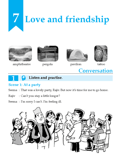 English Lesson Grade 8 Love And Friendship
