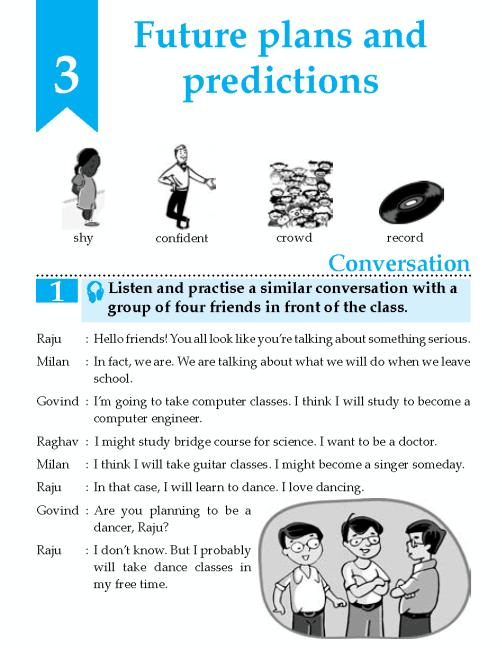 English Lesson Grade 8 Future Plans And Predictions