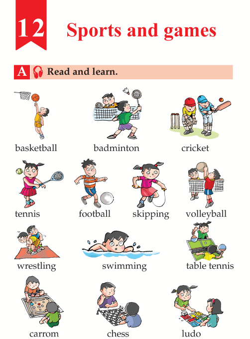 English Lesson Grade B Sports And Games